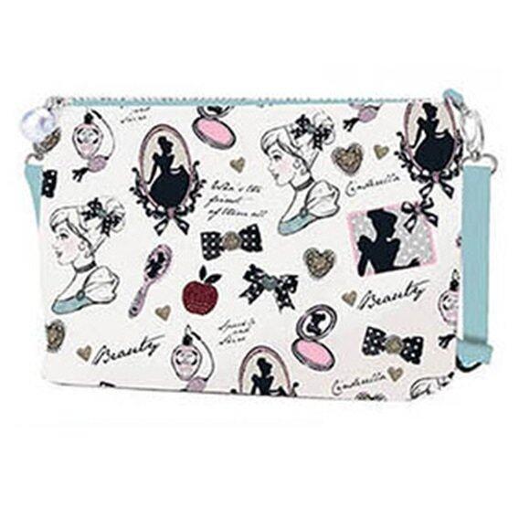 Disney Princess Cinderella Adult Sling Bag - Light Blue Colour