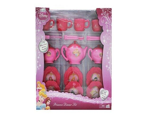 sc 1 st  Youbeli & Disney Princess Dinnerware Set Tea Party