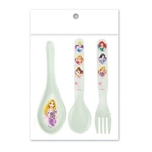 Disney Princess Fork And Spoon Set - White Colour