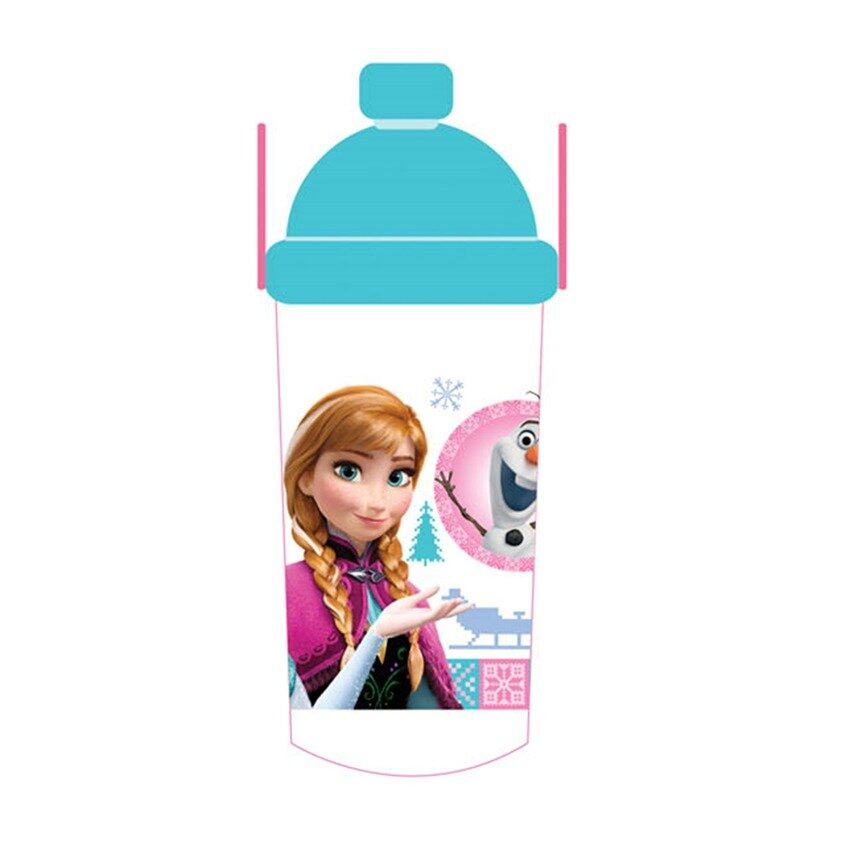 Disney Princess Frozen 350ML Water Bottle - Blue Colour