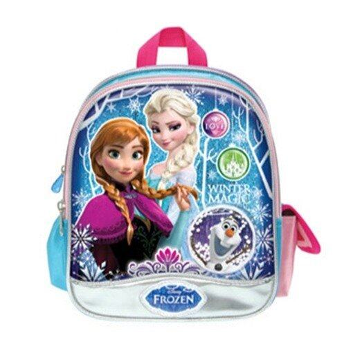 "Disney Princess Frozen Backpack 10"" - Blue Colour"