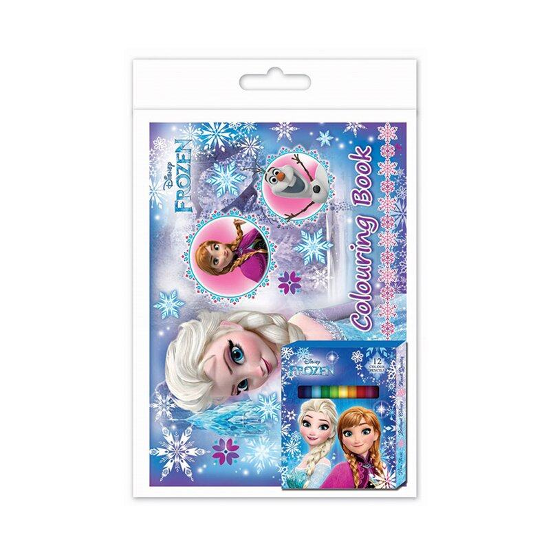 Disney Princess Frozen Colouring Book Set