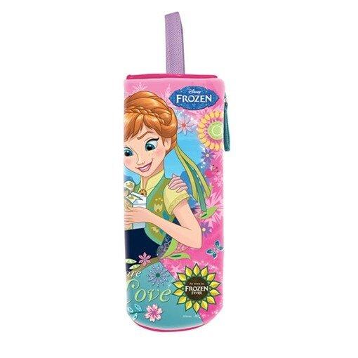 Disney Princess Frozen Fever Round Pencil Bag - Pink Colour