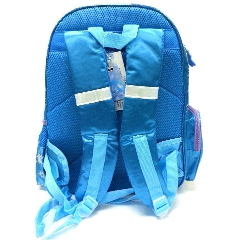 Disney Princess Frozen School Bag - Blue Colour