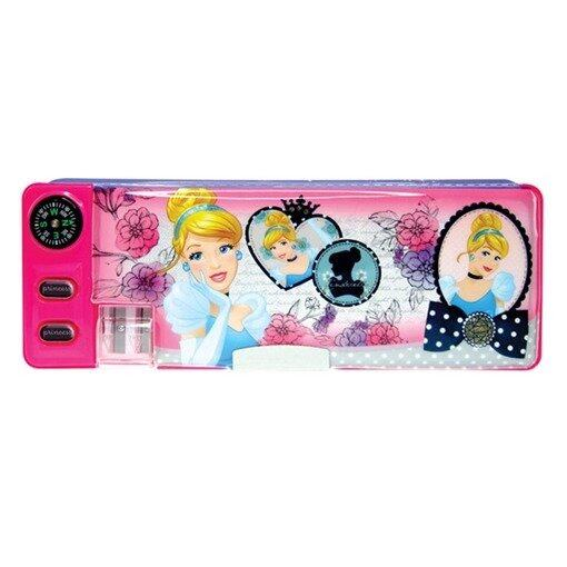 Disney Princess Magnetic Pencil Case - Pink Colour