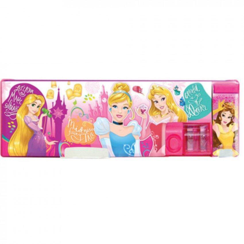 Disney Princess Magnetic Pencil Case - Pink Colour