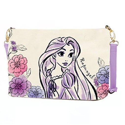 Disney Princess Rapunzel Adult Sling Bag - Light Purple Colour