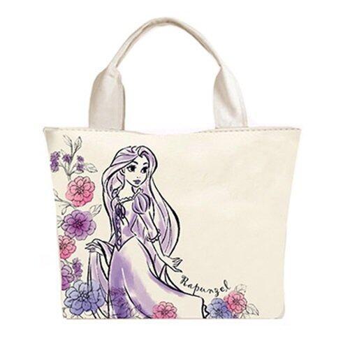 Disney Princess Rapunzel Adult Tote Bag - Light Purple Colour