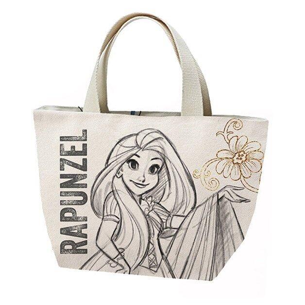 Disney Princess Rapunzel Adult Tote Bag - White Colour