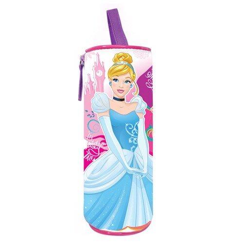 Disney Princess Round Pencil Bag - Pink Colour