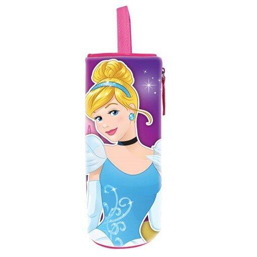 Disney Princess Round Pencil Bag - Purple And Pink Colour