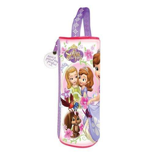 Disney Princess Sofia Round Pencil Bag Set - Purple Colour