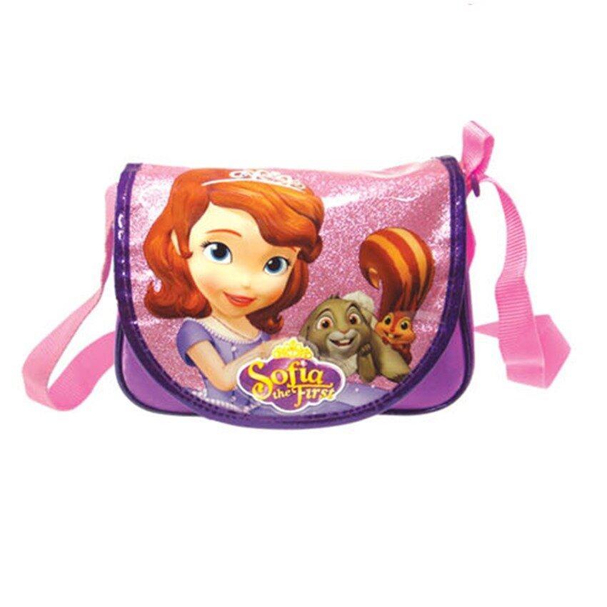 Disney Princess Sofia Sling Bag - Dark Purple Colour