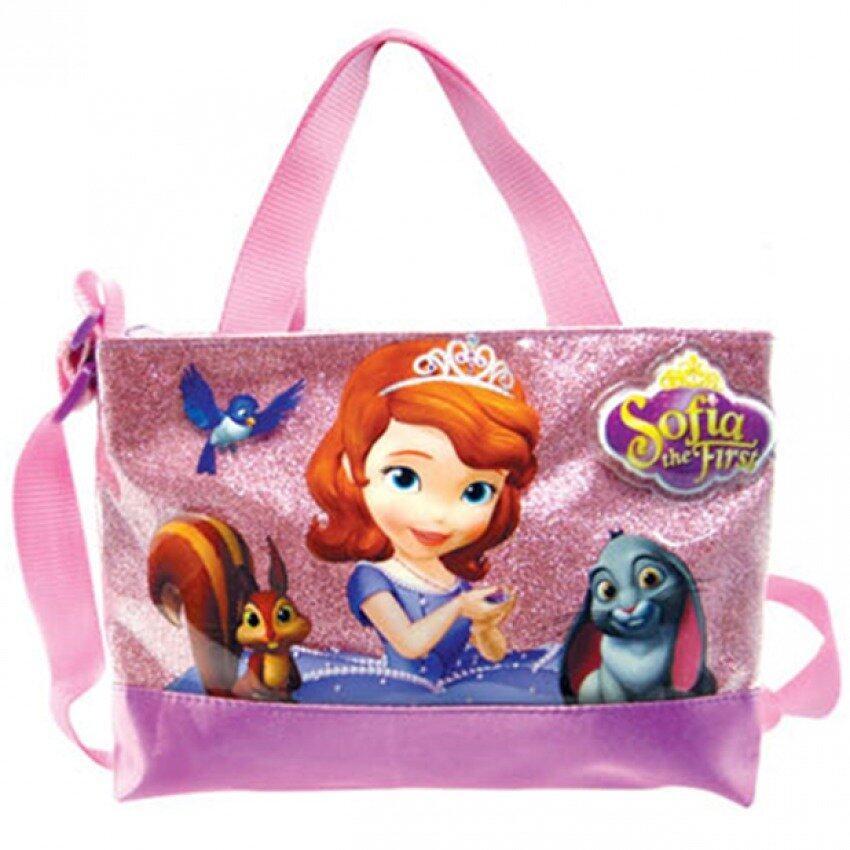 Disney Princess Sofia Square Sling Bag - Purple Colour
