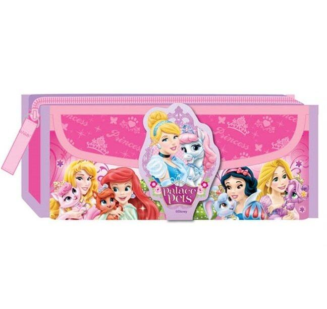 Disney Princess Square Pencil Bag Colour Pencil Set