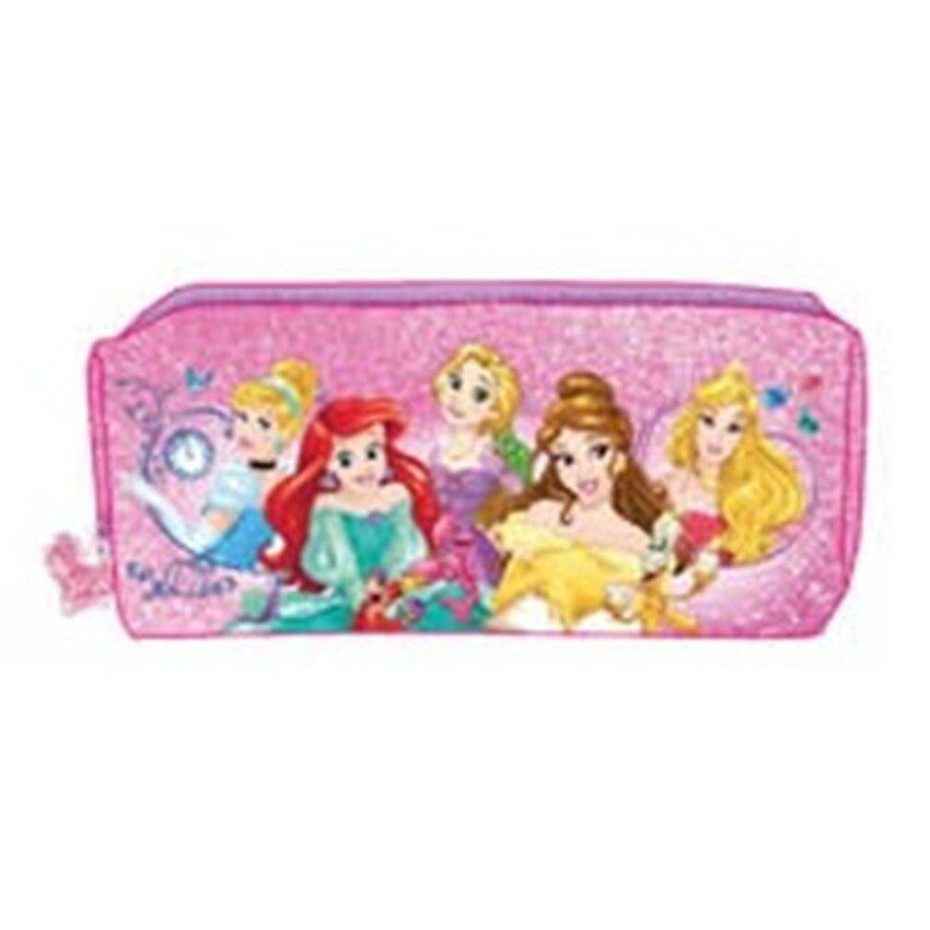 Disney Princess Square Pencil Bag - Pink Colour
