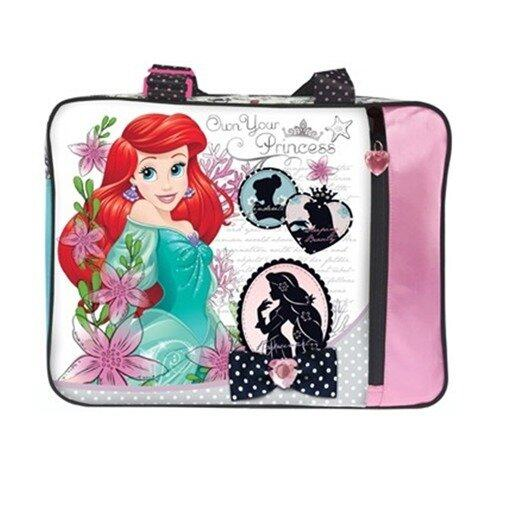 Disney Princess Tuition Bag - Green And Pink Colour