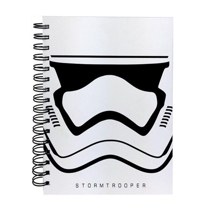 Disney Star Wars A5 100's Hard Cover Notebook - Stromtrooper