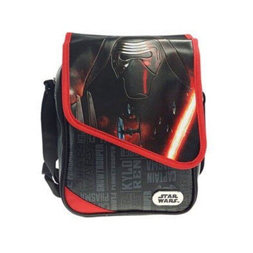 Disney Star Wars Sling Bag - Black And Red Colour