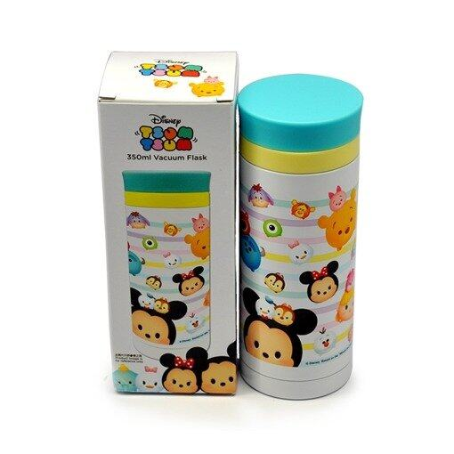 Disney Tsum Tsum 350ML Vacuum Flask - Blue Colour