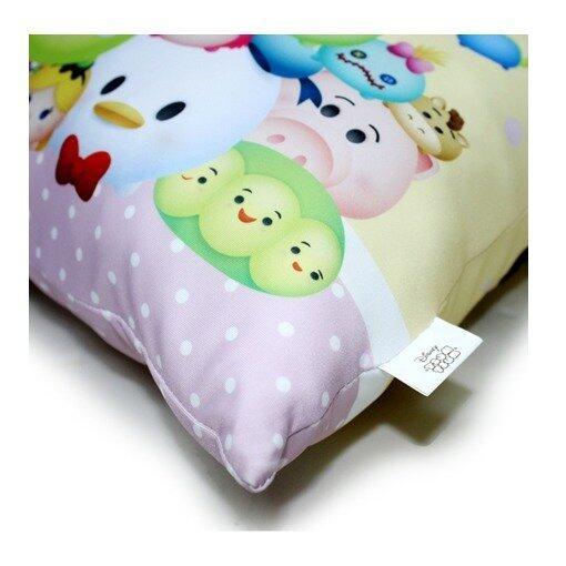 Disney Tsum Tsum Square Cushion - Yellow Colour