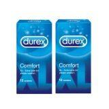Durex Comfort XL Condoms 12s x 2 Boxes