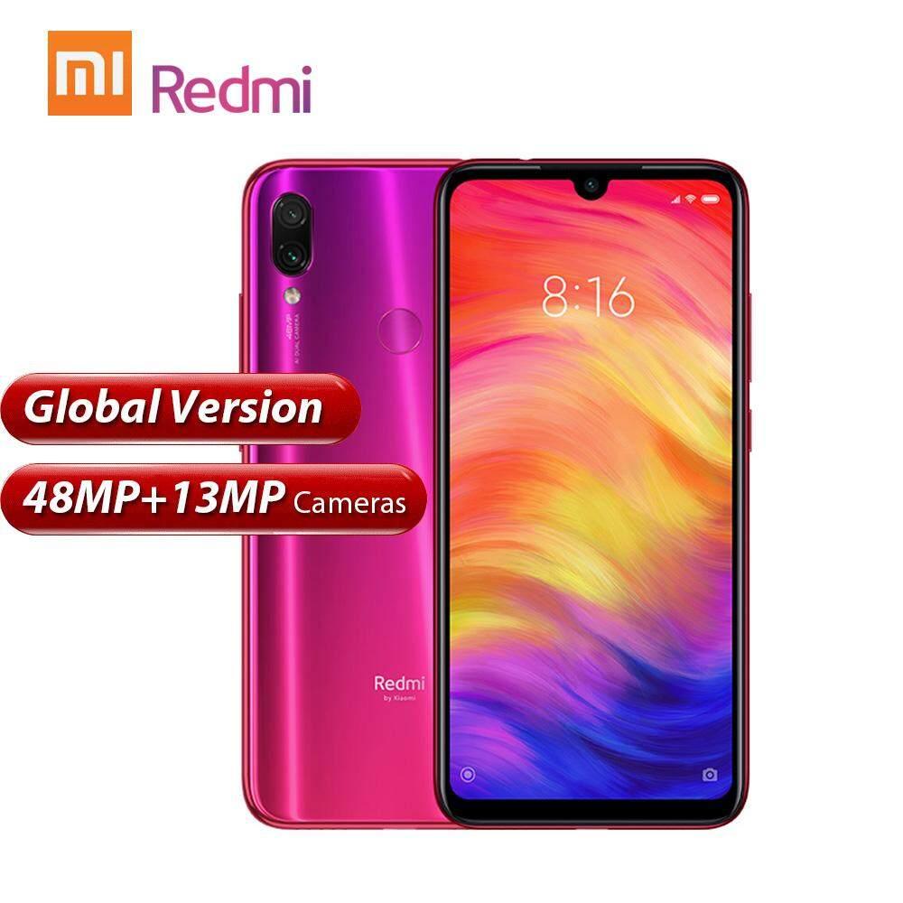 สอนใช้งาน  พัทลุง Global Version Xiaomi Redmi Note 7 โทรศัพท์มือถือ 6.3inich 4GB RAM 128GB ROM 48MP กล้อง Snapdragon 660 4G สมาร์ทโฟนที่ปลดล็อคแล้ว