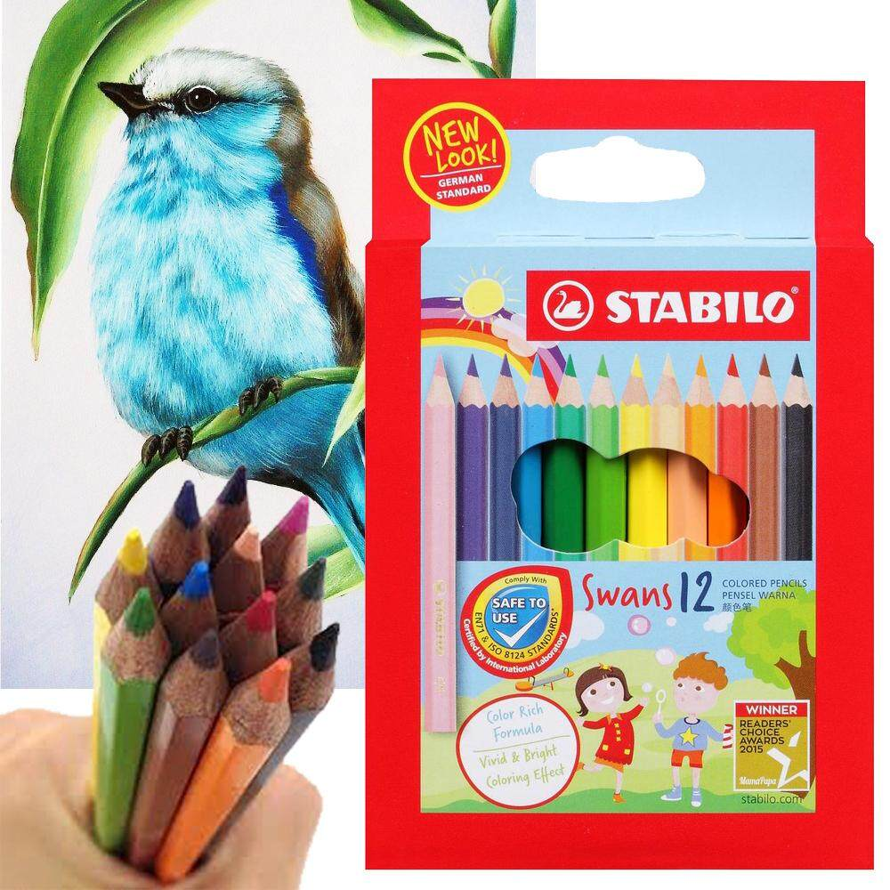 STABILO Swans Coloring Fun Colored Pencils 12s 1873