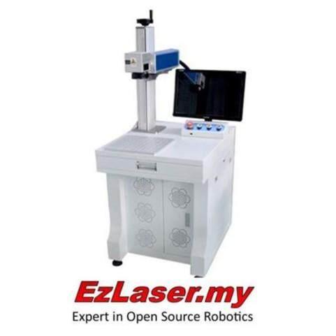 20W Fiber Laser Engraving Metal Marking CNC Machine Engraver Marker