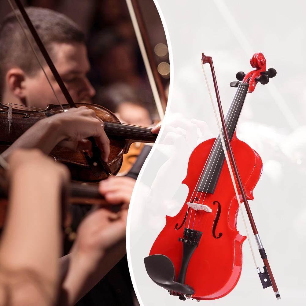 ... Buatan Tangan 1/8 Ukuran Biola Akustik Musik Biola dengan Kasus Bow Rosin - 3 ...
