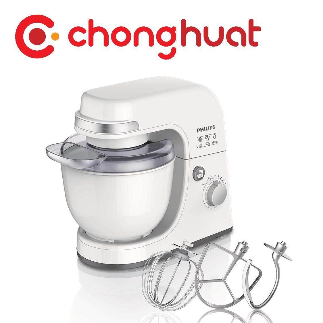 Philips HR7915 Viva Collection Kitchen Machine (300W, 4L, White)