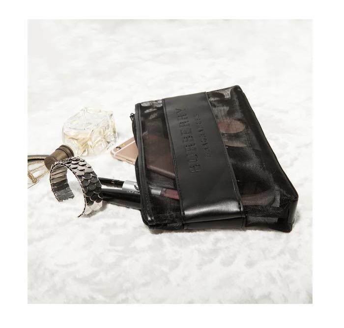 Large Mesh Makeup / Accessories Organised bag