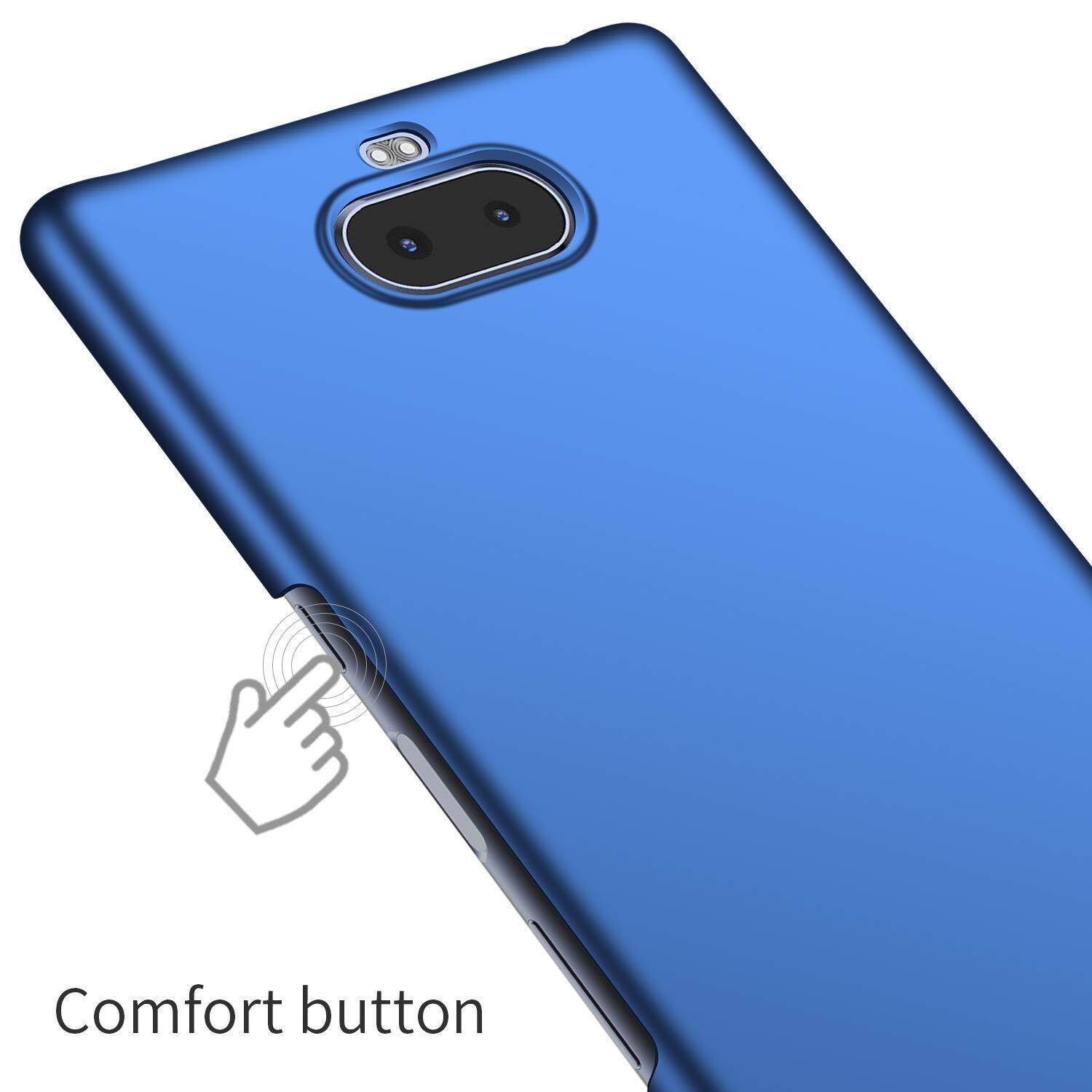 ... For Sony Xperia 10 Plus Case Ultra Thin Premium PC Material Protective Phone Case Back Cover ...