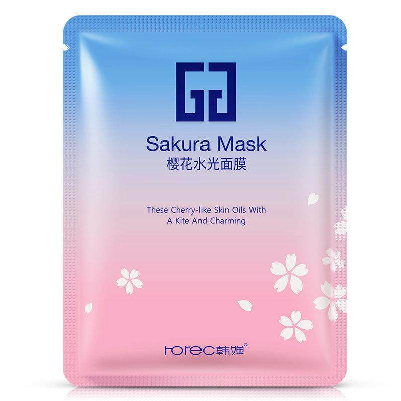 ROREC Sakura Cherry Blossoms Facial Mask