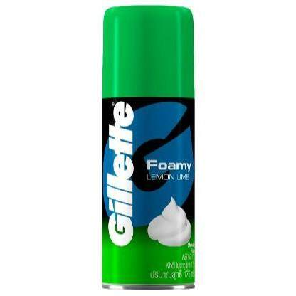 GILLETTE FOAMY LEMON LIME 175GM