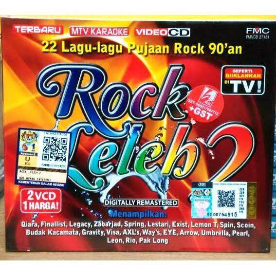 Rock Leleh 2 Qiara Finalist Legacy Zabarjad Spring Lestari 2VCD Karaoke 125c00e8ac