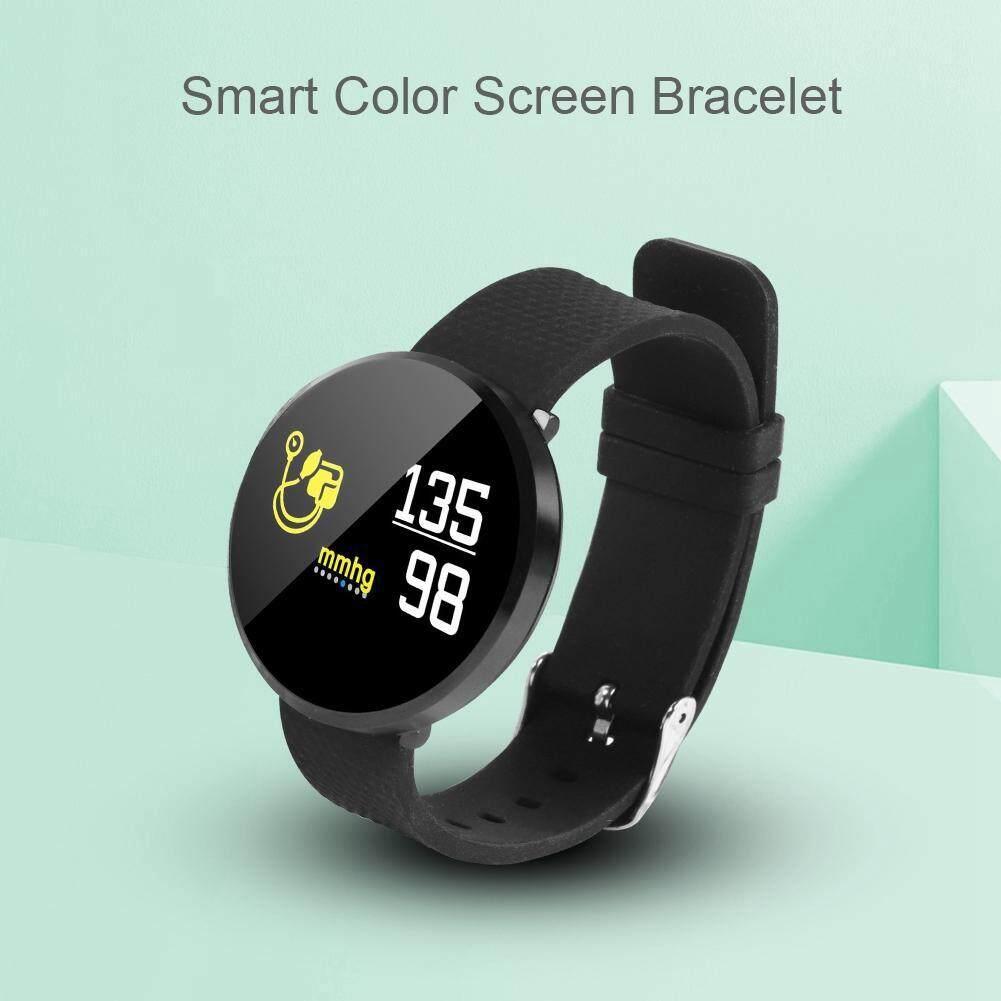 Other Gadgets - Smart Bracelet Smartwatch Waterproof Blood Smart Bracelet - [BLACK / SILVER]