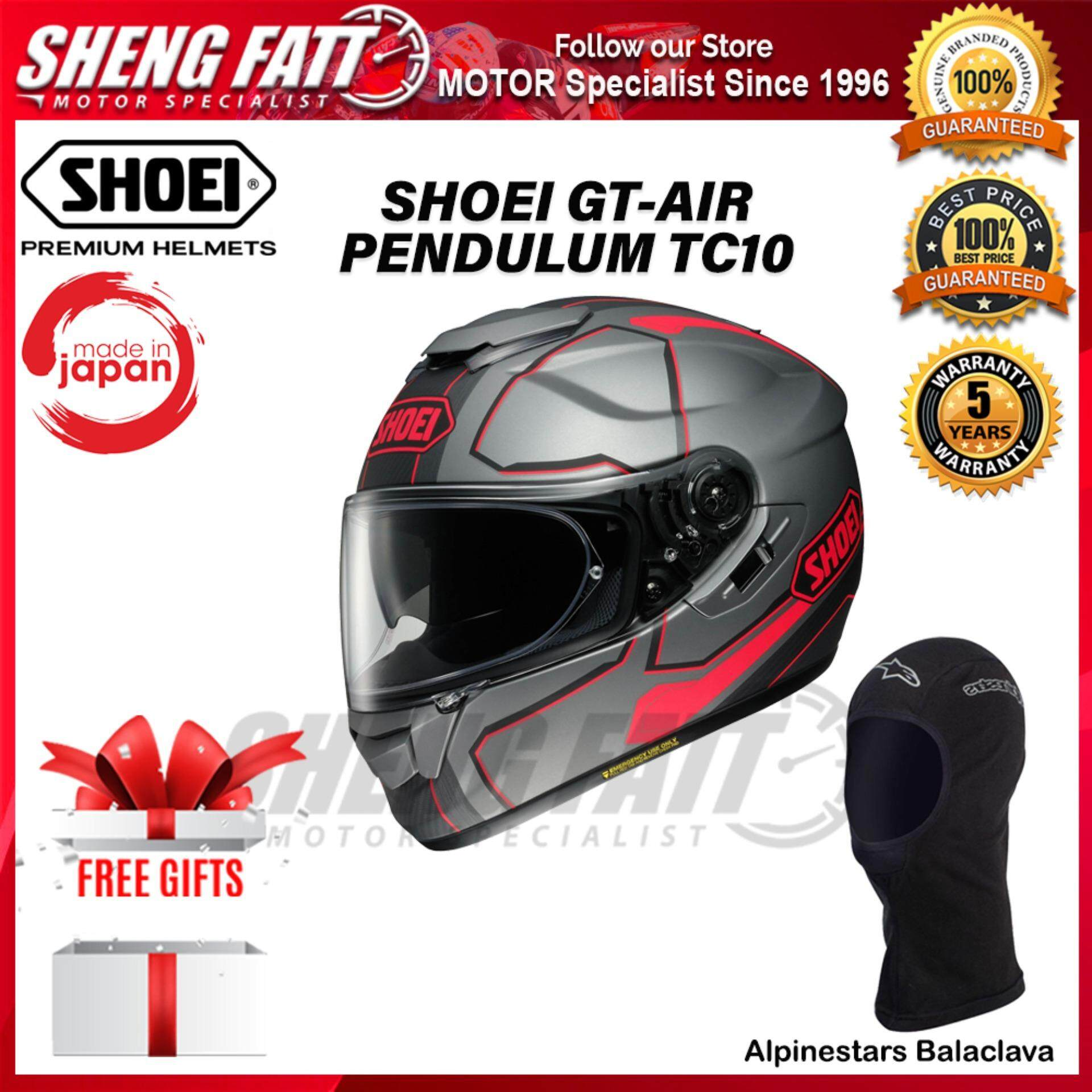 SHOEI GT Air PENDULUM TC10 - FULL FACE HELMET [ORIGINAL]