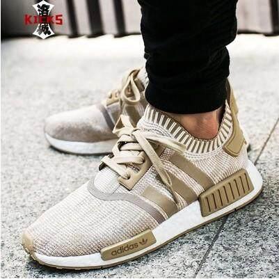 ลำพูน Brandstore เตะ Adidas Clover NMD_R1 PK สีกากี