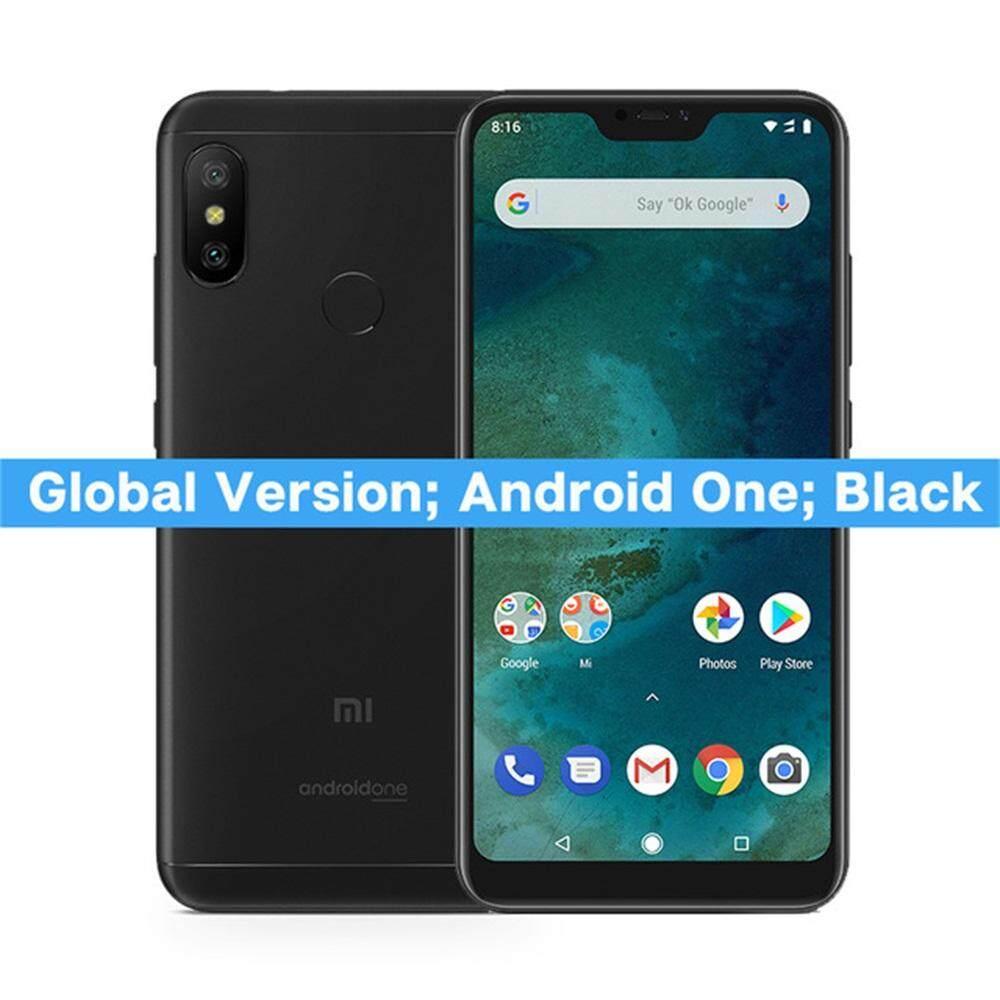 ยี่ห้อนี้ดีไหม  พิษณุโลก Global Version Xiaomi Mi A2 Lite 3GB 32GB โทรศัพท์มือถือ 5.84 นิ้วแบบเต็มหน้าจอ Snapdragon 625 12MP Dual กล้อง Android 8.1