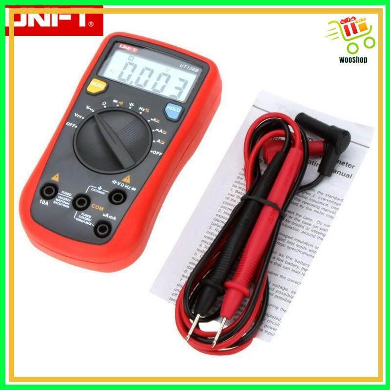 UNI-T UT136B Multimeter AC DC Frequency Resistance Tester W/Capacitance Meter
