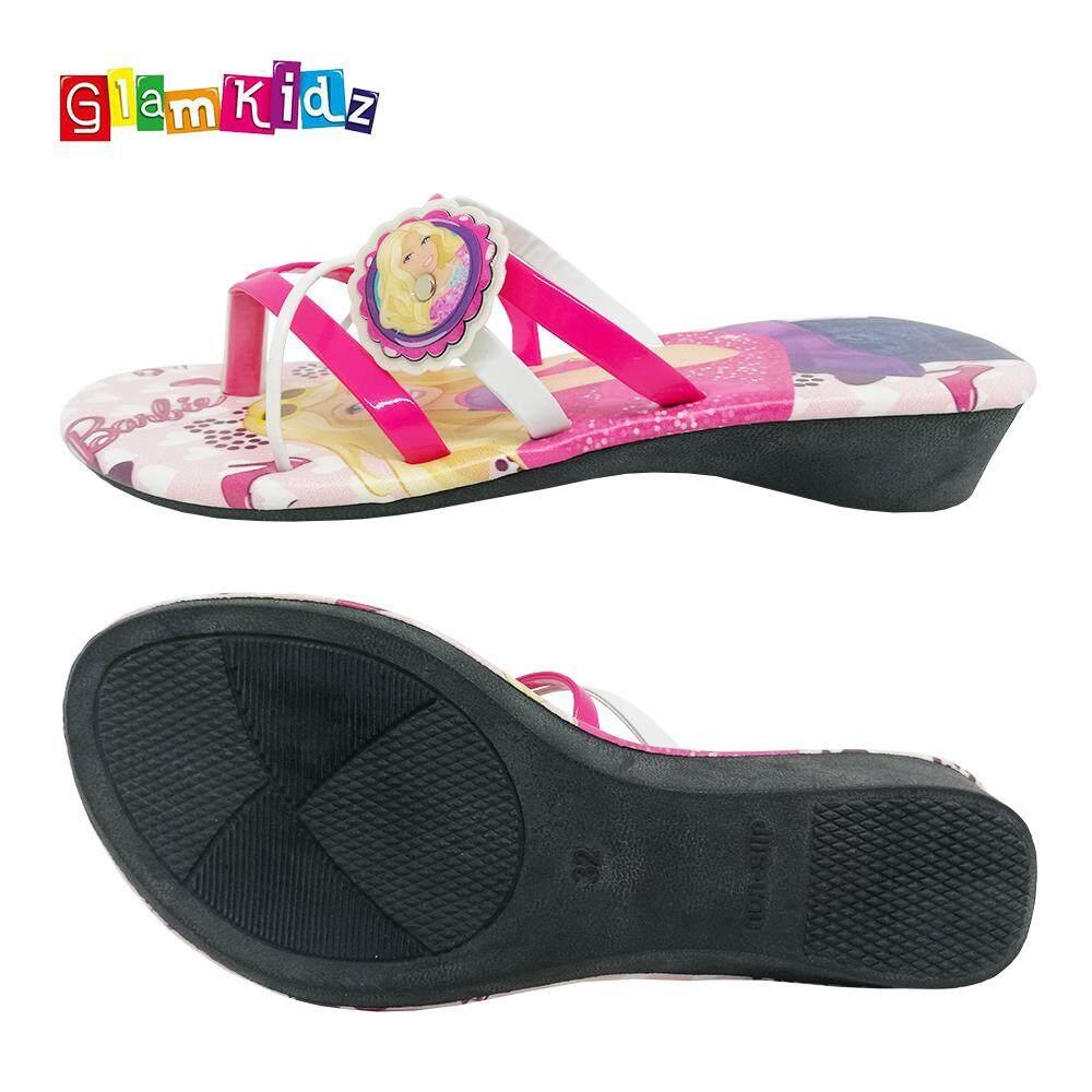 Barbie Girls Sandals / Slippers (Pink) #6168