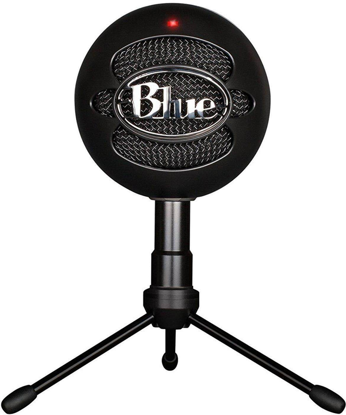 [ 100% ORIGINAL] Blue Snowball iCE Condenser Microphone, Cardioid - Black