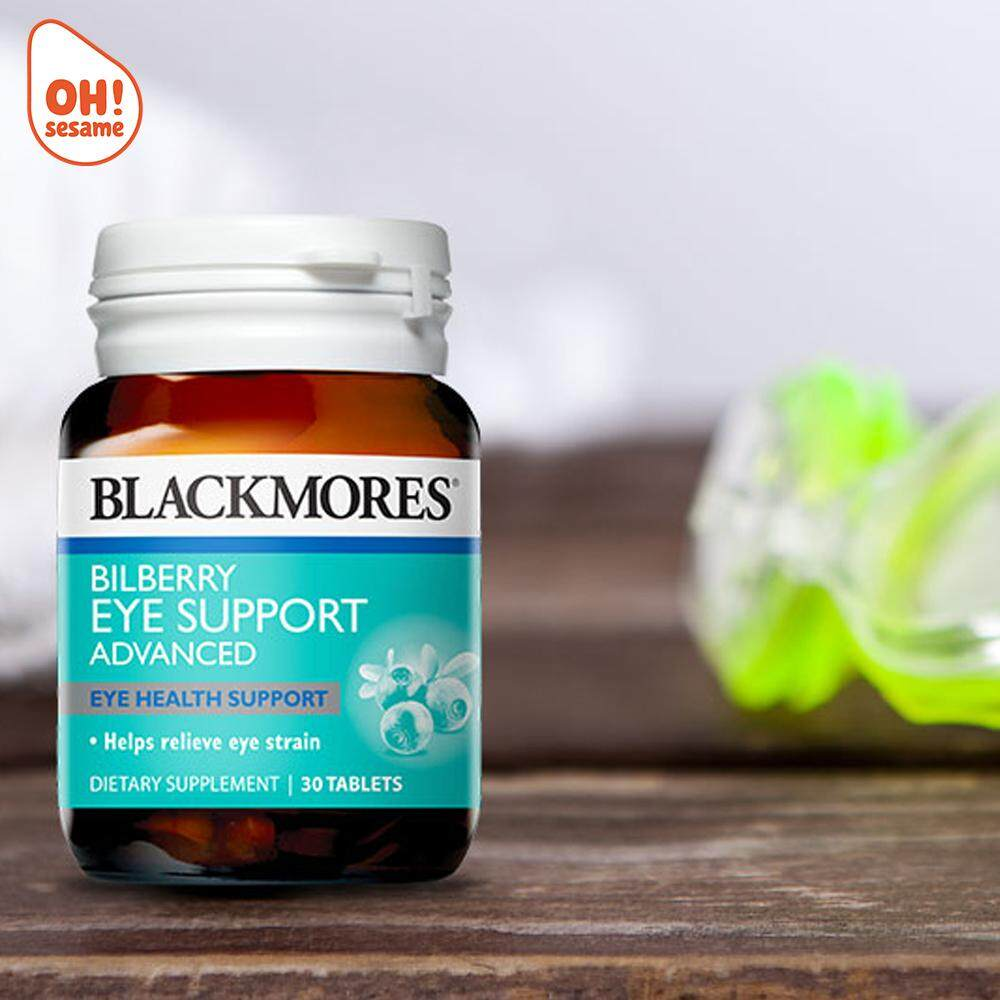 Blackmores Bilberry Eye Support 30 Tablets (Expiry: 2020/11)