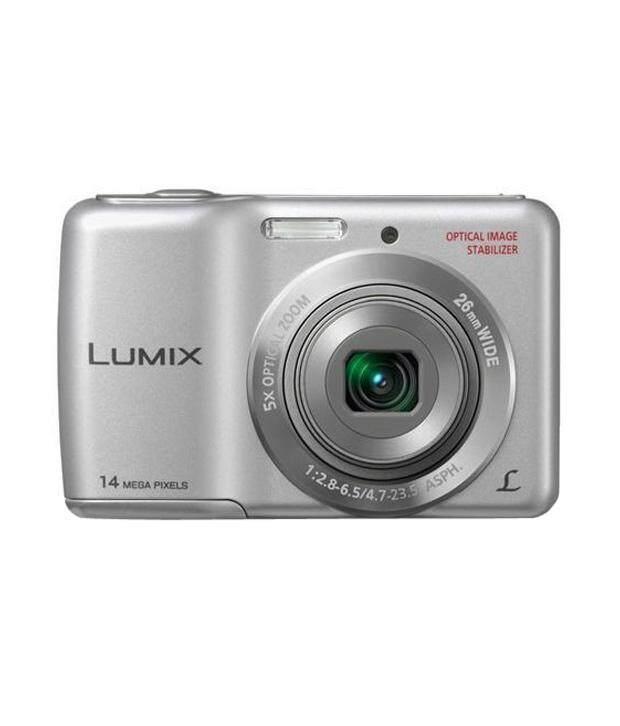 Panasonic Lumix DMC-LS5 14.1MP Point and Shoot Digital Camera (Silver) with 5x Optical Zoom