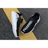 ยี่ห้อนี้ดีไหม  ฉะเชิงเทรา Pharrell Williams Adidas Original เผ่าพันธุ์มนุษย์ NMD Boost รองเท้าวิ่ง H5