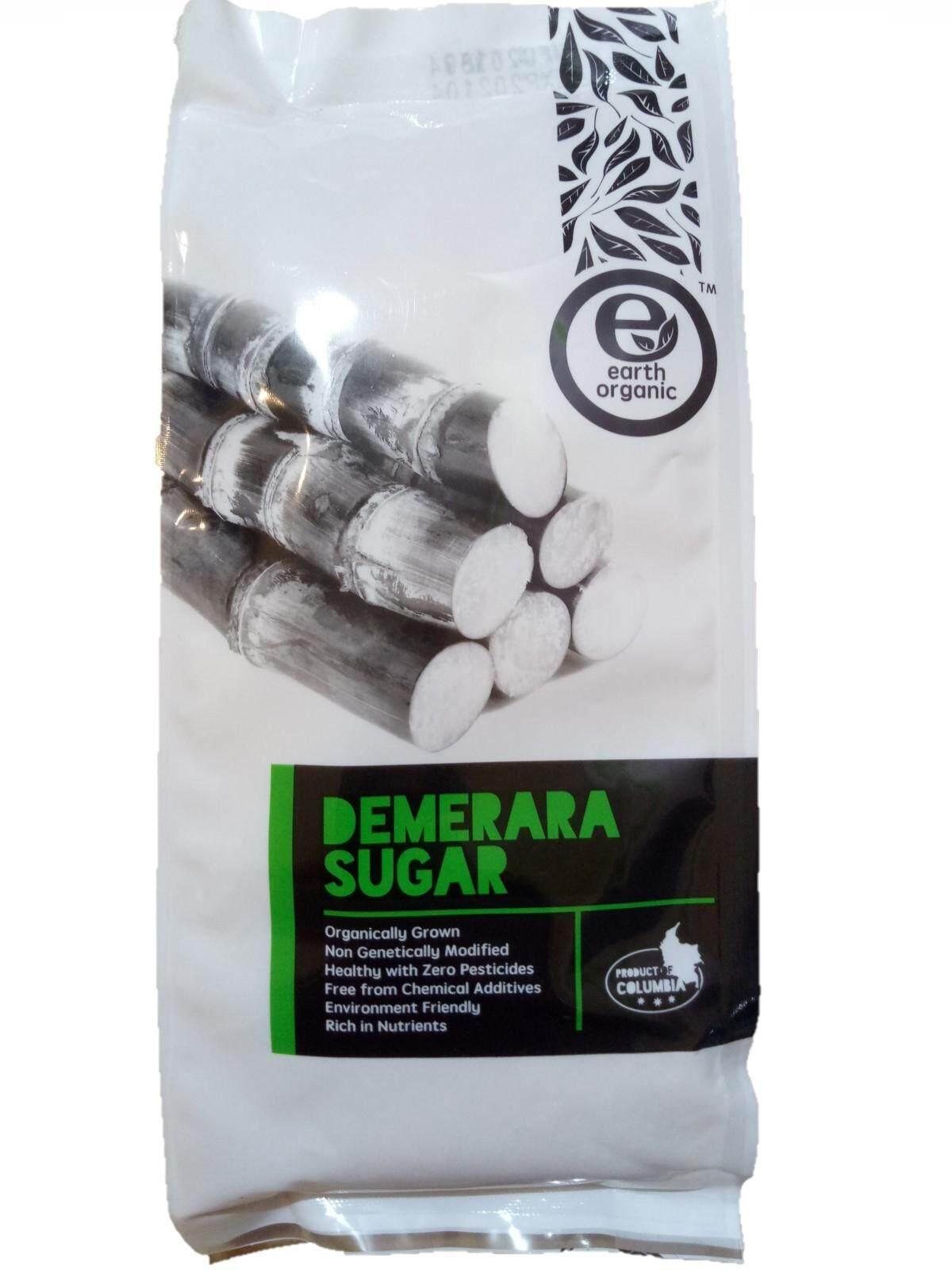 Earth Organic Demarara Sugar 1kg Product of Columbia (certified USDA Organic )