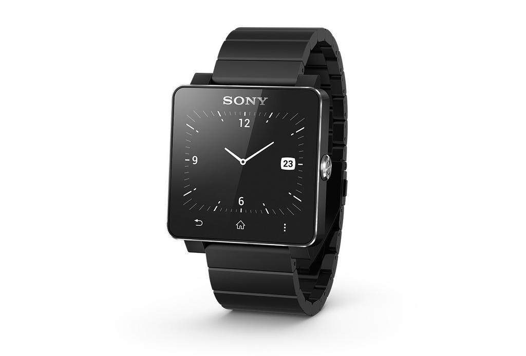 Sony Smartwatch 2 SW2 Metal Band (Black)