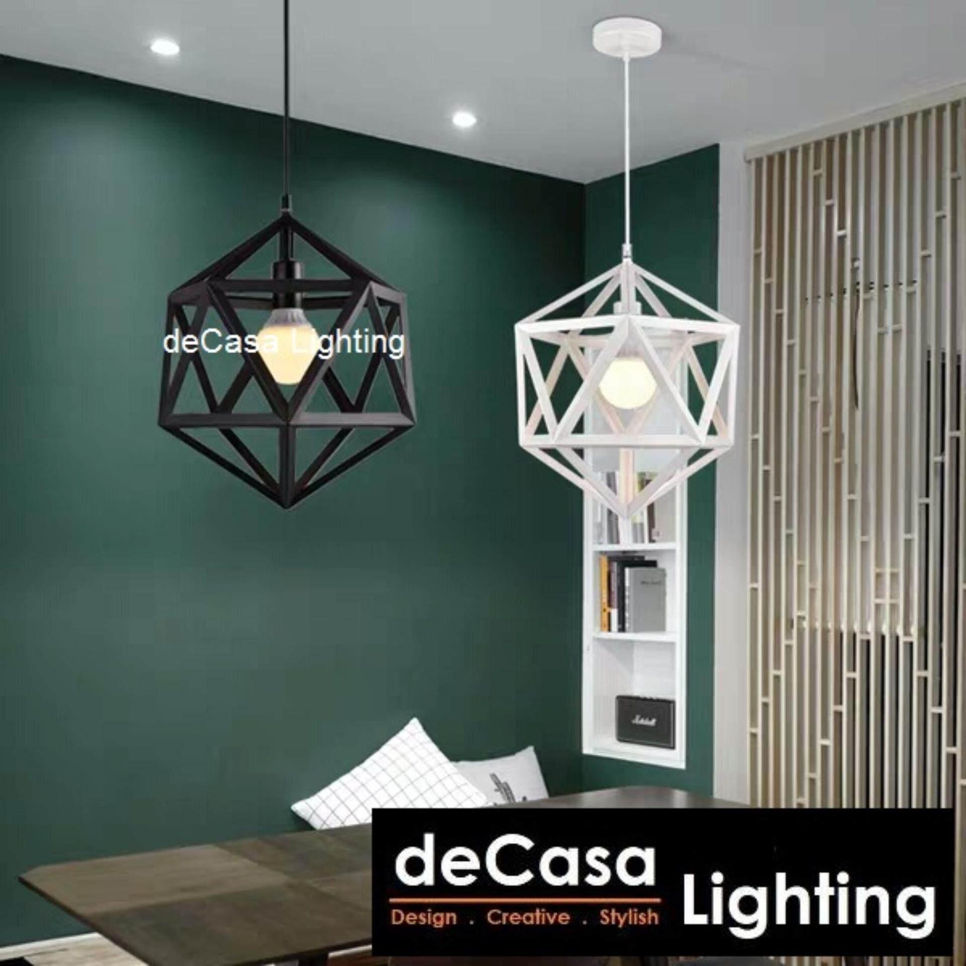 Diamond Black Ceiling Light Hanging Light Brand new and high quality Adjustable length Suitable for dining room, bedroom, living room Great decoration Restaurant Cafe (JL-10153-350-BK)