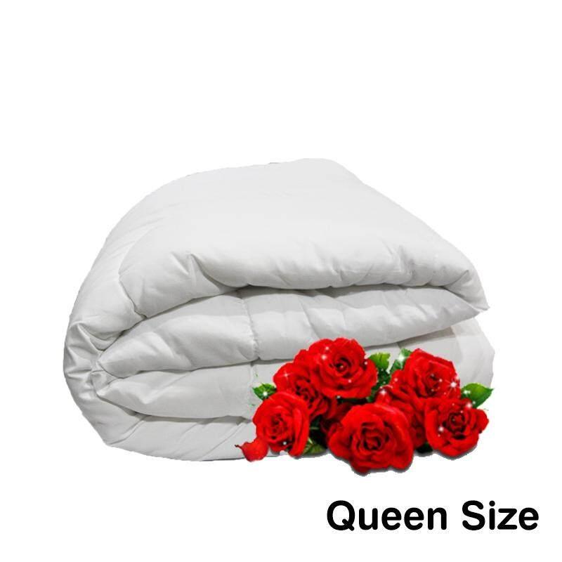 """Linen Series, Polyester Filled 165gm White Duvet Insert - Queen 85""""x 85"""""""